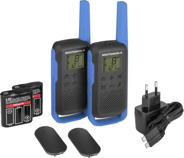 Lot de 2 Talkies-Walkies Talkabout T62 bleu Motorola Maroc