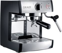 Machine à expresso Graef ES702EU01 acier inoxydable, noir