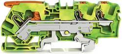 Borne pour conducteur de protection WAGO 2106-5307 7.50 mm Push-In vert-jaune 25 pc(s)