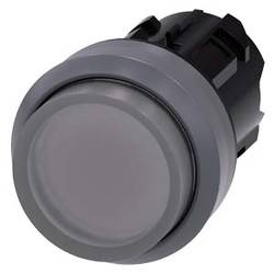 Bouton-poussoir lumineux à rappel Siemens 3SU1031-0BB70-0AA0 1 pc(s)