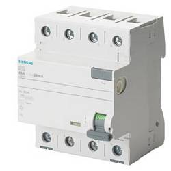 Interrupteur différentiel Siemens 5SV3346-6LA01 5SV33466LA01
