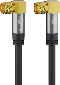 Câble de raccordement Goobay 70567 [1x F mâle - 1x F mâle] 1.00 m noir