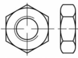 Écrou hexagonal M6 ISO 4035