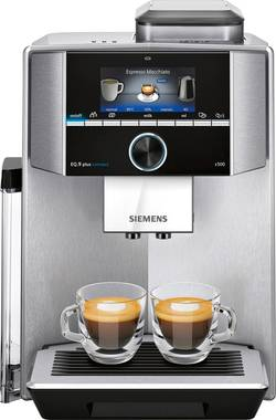 Machine espresso Siemens argent, noir