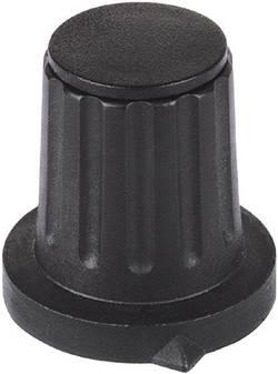 Tête de bouton rotatif Mentor 4312.6131 avec pointeur noir (Ø x h) 28 mm x 18.5 mm 1 pc(s)