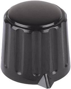Tête de bouton rotatif Mentor 4309.6131 avec pointeur noir (Ø x h) 15 mm x 16 mm 1 pc(s)