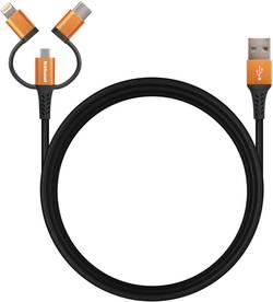 Hähnel Fototechnik Flexx 3in1 10006560 Câble de charge