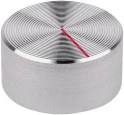 Tête de bouton rotatif Mentor 523.611 aluminium (Ø x h) 30 mm x 15 mm 1 pc(s)
