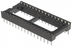 Support de circuits intégrés ASSMANN WSW A 32-LC-TT 15.24 mm Nombre total de pôles: 32 1 pc(s)