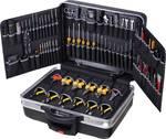 Mallette de service PROTECTION XL avec jeu d'outils « Boss » avec 110 outils, roulable