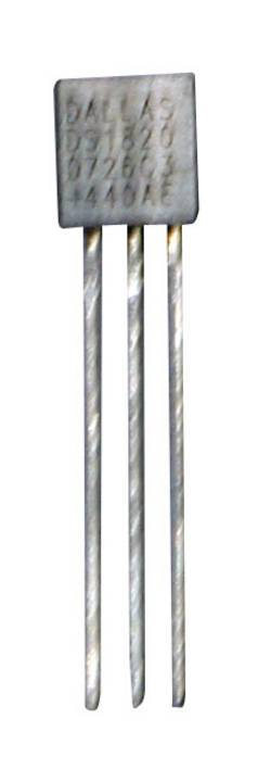 B+B Thermo-Technik CON-DS1820-BT Capteur de température -55 à +125 °C TO-92 sortie radiale