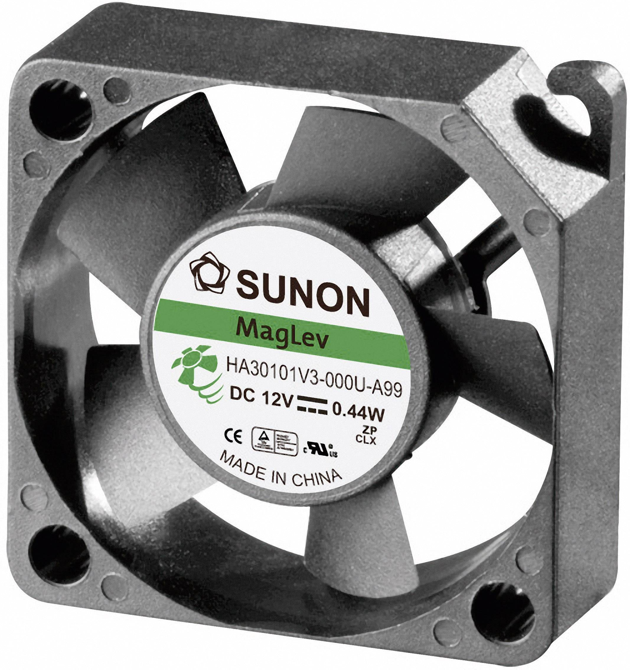 Ventilateur axial Sunon HA30101V3 0000 A99 12 VDC 5.94 m³h (L x l x h) 30 x 30 x 10 mm 1 pc(s)