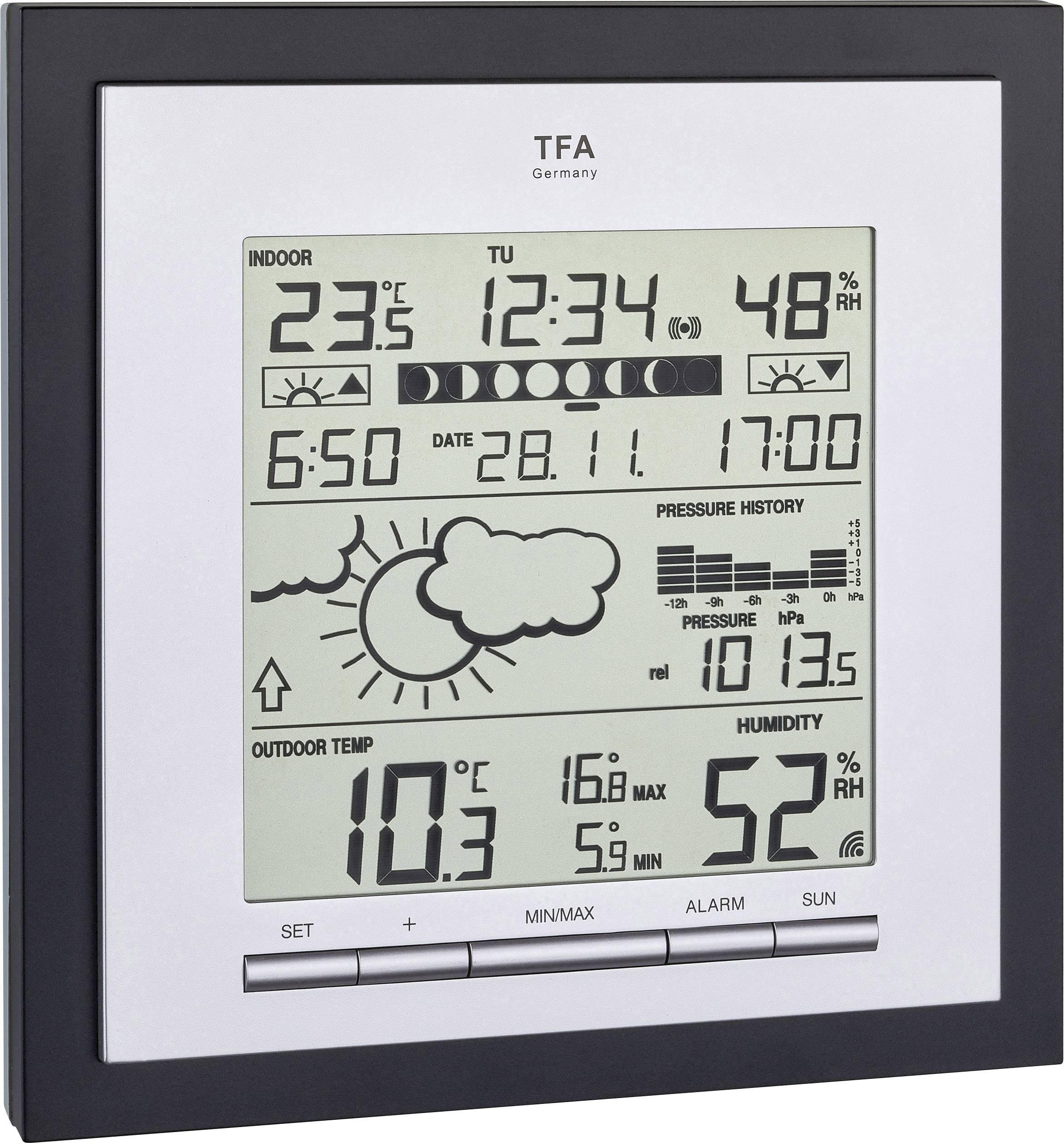1 pièces Tfa 35.1134.10 funk-station météo sans fil