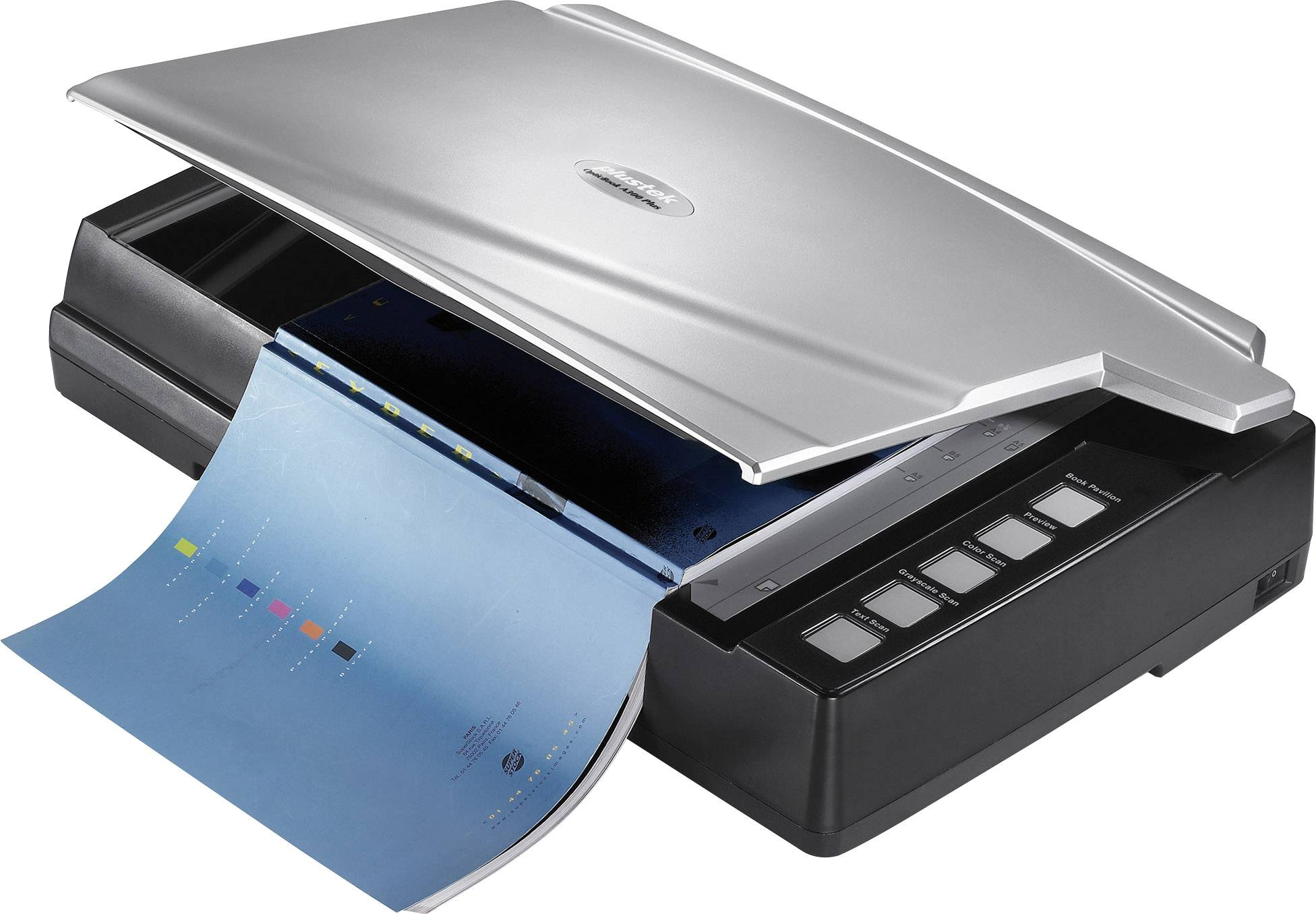 Scanner A Livres A3 Plustek OpticBook A300 Plus 600 X Dpi USB Documents