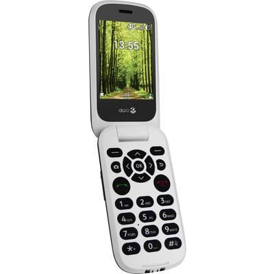 Téléphone Portable à Clapet Pour Séniors Doro Doro 7060 Noir Blanc