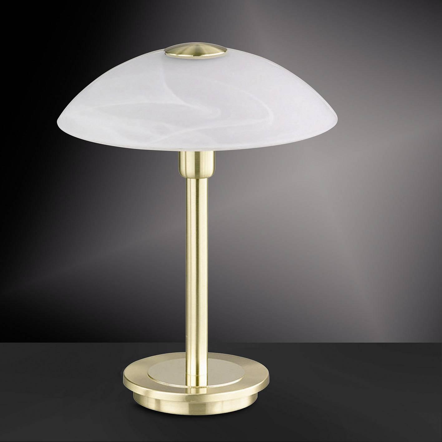 Lampe de table 1x G9 Paul Neuhaus ENOVA 4235 60 laiton mat, opale 1 pcs   Conrad.fr