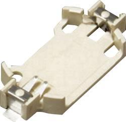 Support de pile bouton CR 2430 Takachi SMTU2430 horizontal, montage en surface CMS
