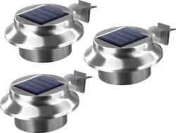 Solaire Lampe de table de Easymaxx Luminaire en acier inoxydable blanc Lampe de chevet nouveau *