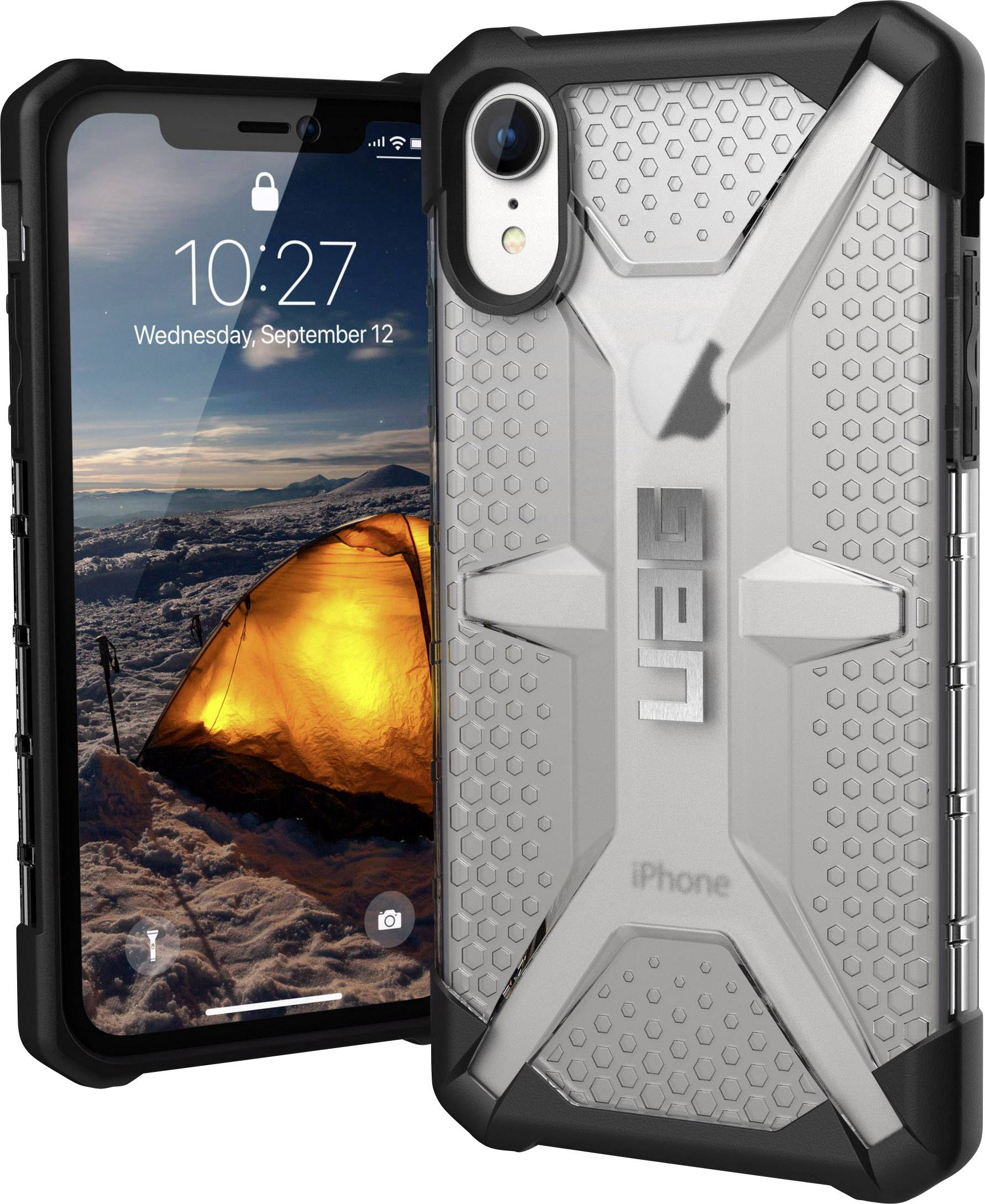 coque iphone xr glace