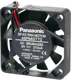 Ventilateur axial Panasonic ASFN44770 5 V/DC 7.2 m³/h (L x l x h) 40 x 40 x 10 mm 1 pc(s)