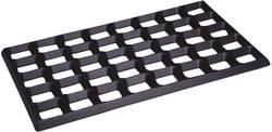 Tapis de montage compartimenté antistatique (ESD) BJZ C-187 625 (L x l x h) 610 x 370 x 20 mm noir 1 pc(s)