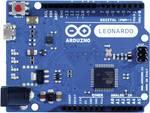 Platine Leonardo (Atmel megaAVR® ATmega32U4) avec connecteurs Arduino