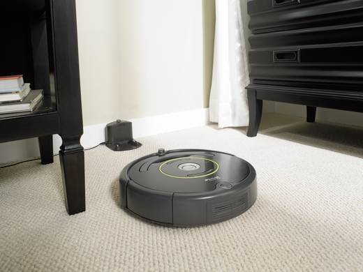aspirateur robot irobot roomba 650 noir 1 mur virtuel. Black Bedroom Furniture Sets. Home Design Ideas