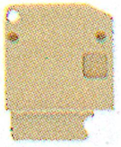 Flasque de fermeture Weidmüller AP VLI1.5/PE DB 1784160000 20 pc(s)