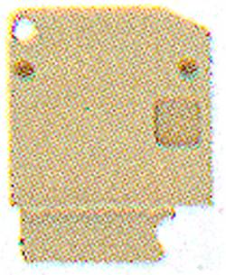 Flasque de fermeture Weidmüller AP DLD2.5 DB 1784210000 20 pc(s)