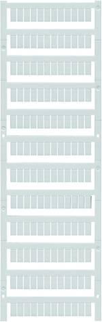 Repère de bornes MultiCard WS 10/5 MC MIDD. NEUTR. 1792000000 blanc Weid