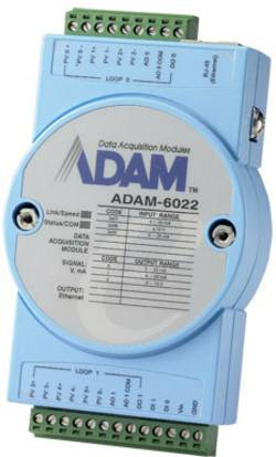Contrôleur Ethernet Dual-Loop PID Advantech ADAM-6022-AE 12 V/DC, 24 V/DC 1 pc(s)