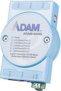 Commutateur LAN Advantech ADAM-6520L-AE Nbr. de sorties: 5 x 12 V/DC, 24 V/DC, 48 V/DC 1 pc(s)