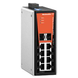 Switch industriel non administrable Weidmüller IE-SW-VL08-6GT-2GS 1241280000 1 pc(s)