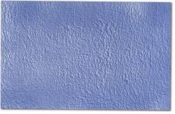 Feuille pour la mer, bleue avec formes de vagues