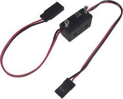 Câble avec interrupteur On/Off standard Modelcraft 223895 [1x JR mâle - 1x JR femelle] 0.14 mm²