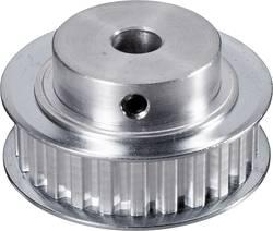 Poulie dentée Reely 226025 aluminium Ø perçage: 8 mm Diamètre: 45 mm Nombre de dents: 25