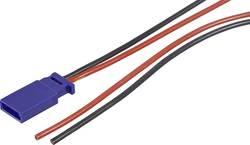 Câble avec fiche pour accu Modelcraft 59189 [1x Futaba mâle - 1x extrémité(s) ouverte(s)] 300 mm 0.50 mm²
