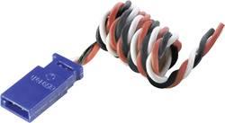 Câble rallonge servo Modelcraft 59243 [1x Futaba mâle - 1x Futaba femelle] 0.35 mm² silicone, torsadé 500 mm