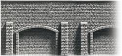 Mur à arcades N non peint Noch 34848