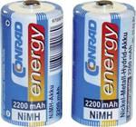 Accu LR14(C) NiMH 1.2 V Conrad energy 250234 2200 mAh 2 pièce