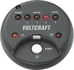 Testeur de piles bouton alcalines et lithium Voltcraft