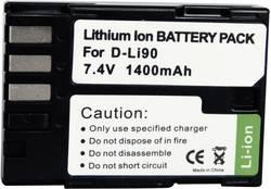 Batterie pour appareil photo Conrad energy 250506 7.4 V 1300 mAh
