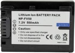 Batterie pour appareil photo Conrad energy NP-FV50 7.2 V 550 mAh