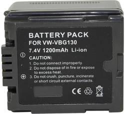 Batterie pour appareil photo Conrad energy VWVBG130 7.2 V 1000 mAh