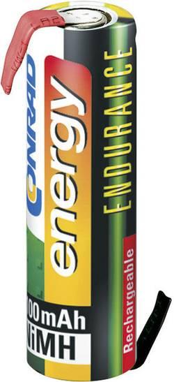 Conrad energy Endurance ZLF Pile rechargeable spéciale LR6 (AA) cosses à souder en Z NiMH 1.2 V 2300 mAh