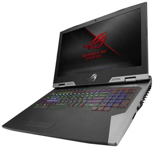 ordinateur portable de gaming 43 9 cm 17 3 pouces asus rog chimera g703vi e5060t intel core i7. Black Bedroom Furniture Sets. Home Design Ideas