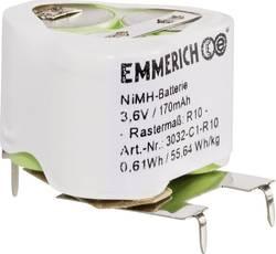 Pack d'accus 3x accu spécial NiMH Emmerich 251574 3.6 V 170 mAh