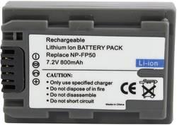 Batterie pour appareil photo Conrad energy 252074 7.2 V 550 mAh