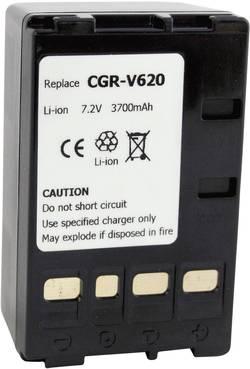 Batterie pour appareil photo Conrad energy 252111 7.2 V 4000 mAh