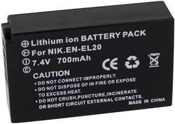 Batterie pour appareil photo Conrad energy EN-EL20 7.4 V 700 mAh